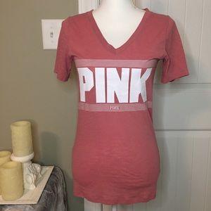Pink Victoria's Secret T-shirt size S .